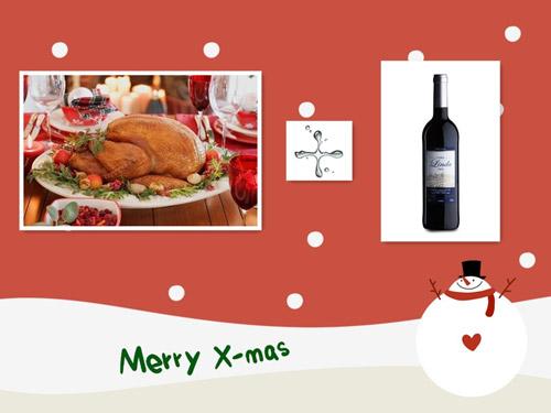 圣诞大餐与葡萄酒的搭配参考(一)